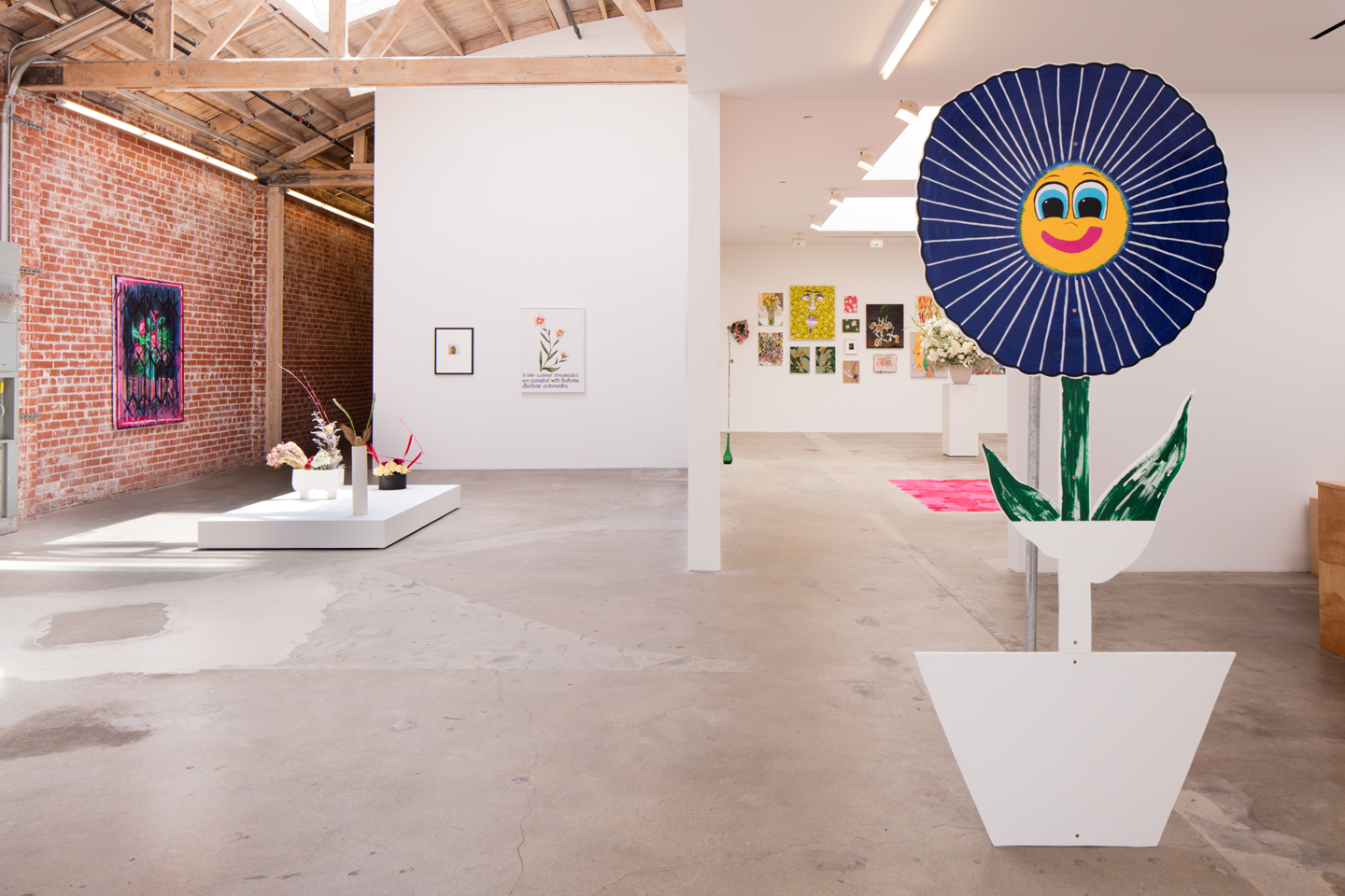 A Change of Heart installation view at Hannah Hoffman Gallery, Los Angeles, 2016. Courtesy: Hannah Hoffman Gallery, Los Angeles. Photo: Michael Underwood