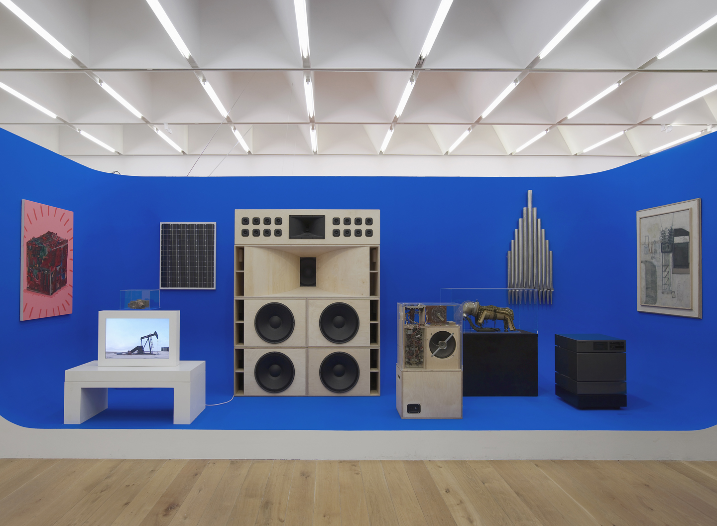 Mark Leckey, The Universal Addressability of Dumb Things installation view at Nottingham Contemporary, Nottingham, 2013. Courtesy: the artist and Gavin Brown's Enterprise, New York