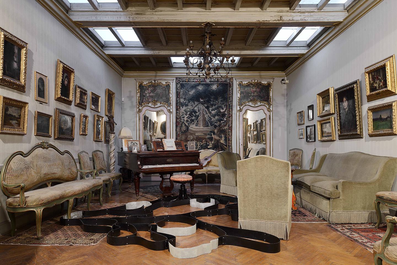 Benjamin Hirte And Chadwick Rantanen At Museo Pietro Canonica  # Taylor Muebles Guadalajara