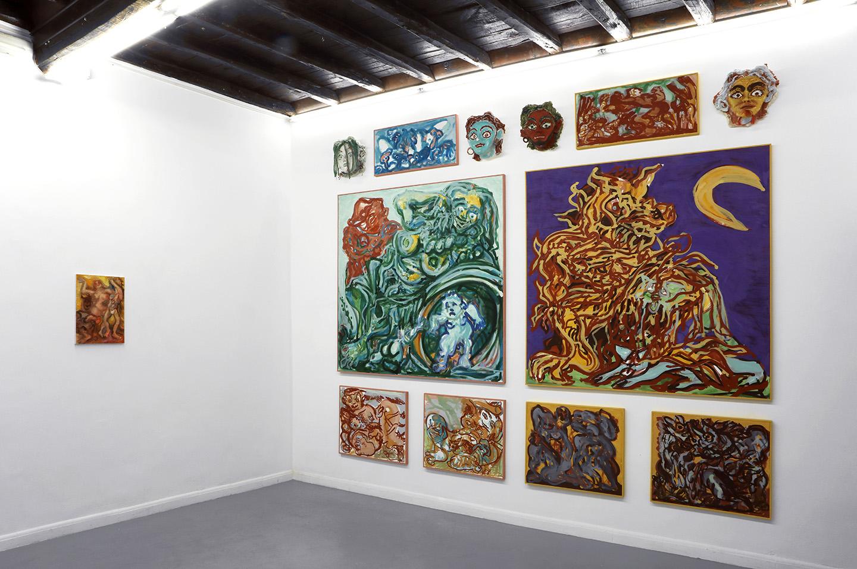 Giovanni copelli amanti at operativa arte contemporanea for Magazine arte contemporanea
