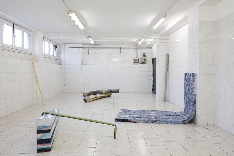 Sara Enrico A Terre En L Air At Tile Project Space Milan Mousse