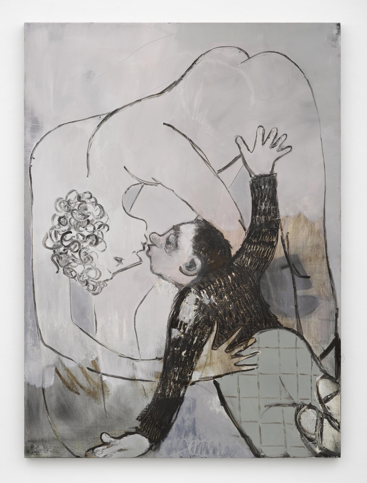 Sanya Kantarovsky, No Down No Feather (after Eisenstein), 2015. Courtesy: Stuart Shave/Modern Art, London. Photo: Ben Westoby