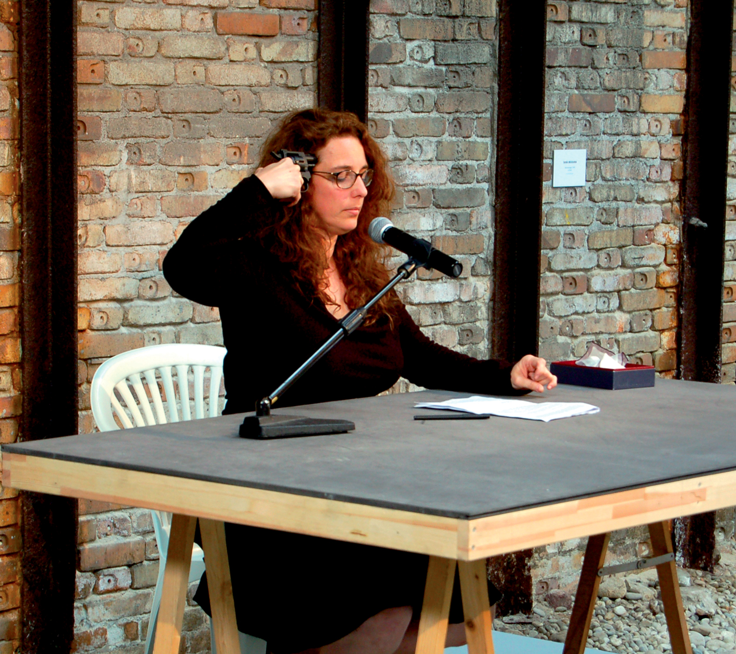 Tania Bruguera, Self- sabotage (Autosabotage), 2009. Courtesy: the artist. Photo: Cesar Delgado Wixen