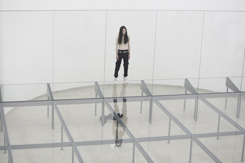 Anne Imhof Faust At German Pavilion Venice Biennale Mousse  # Muebles Deutsch