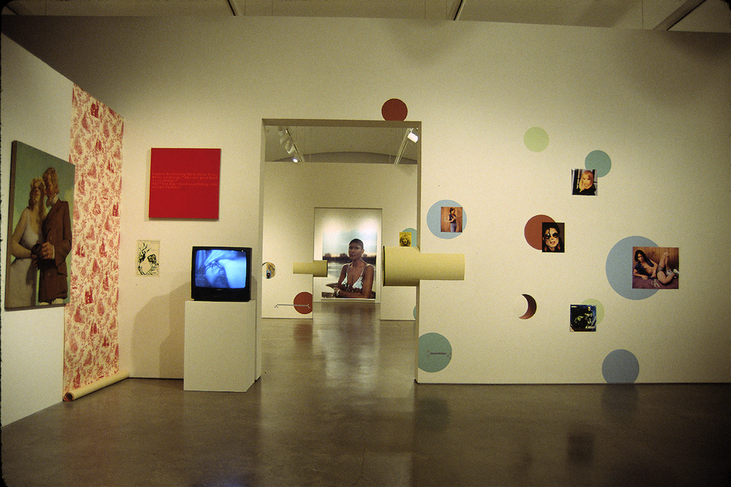 a/drift, installation view at Center for Curatorial Studies Museum, Bard College, New York, 1996. Courtesy: Center for Curatorial Studies, Bard College. Photo: Joshua Decter