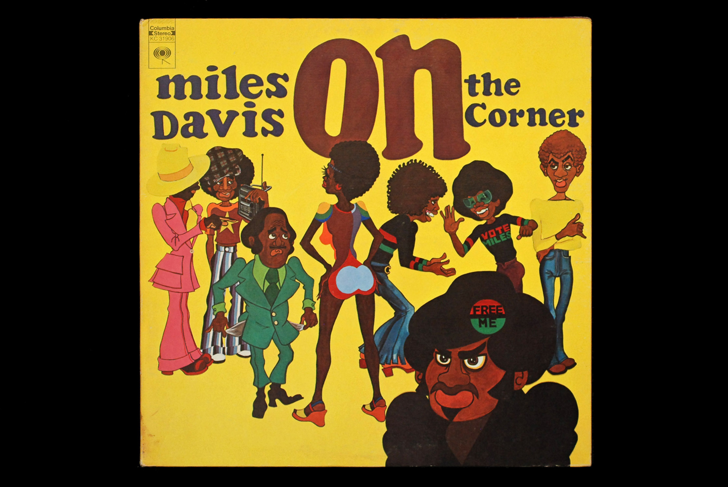 Miles Davis, On the Corner, Columbia, 1972. Cover paintings by Corky McCoy