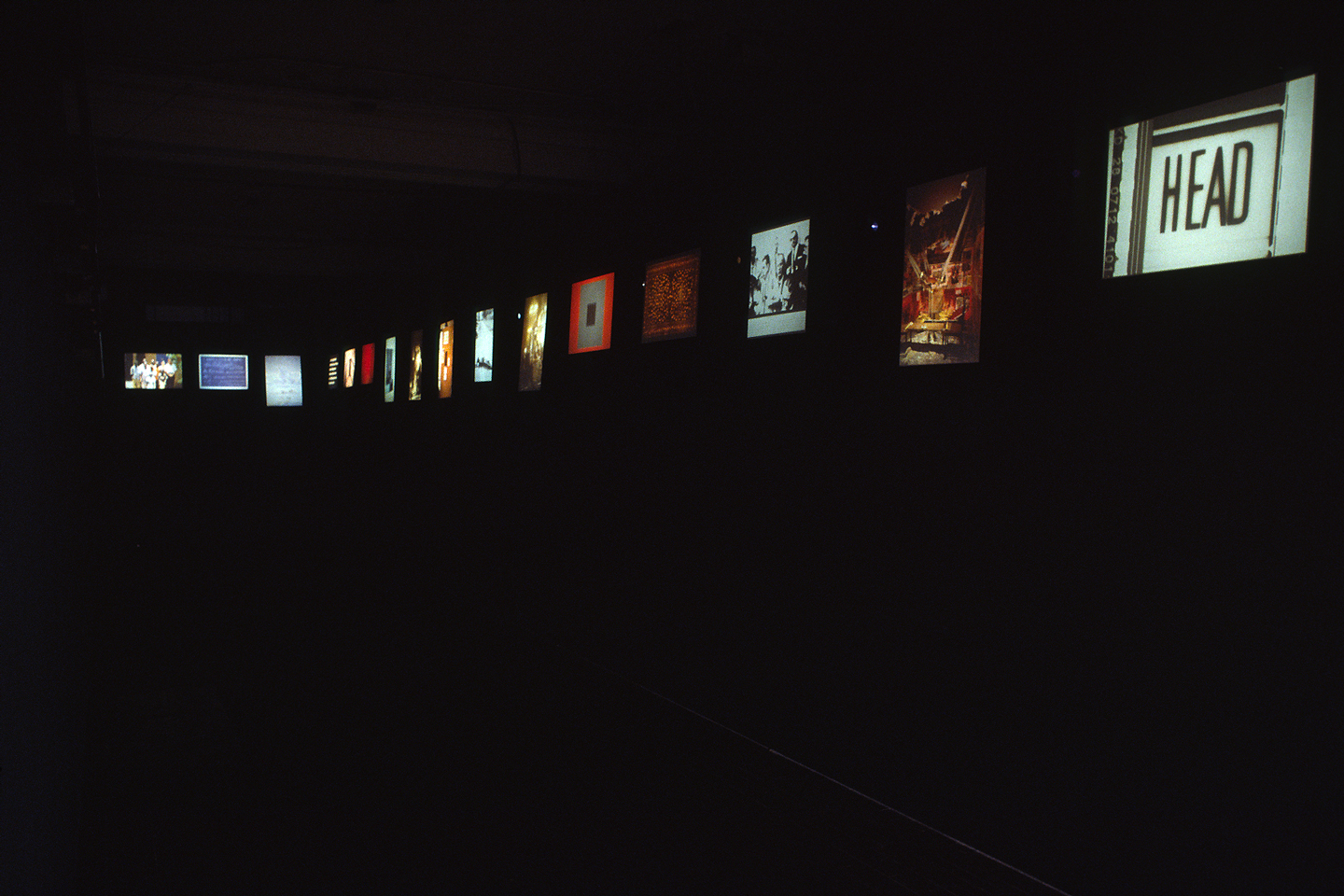 Don't Look Now, installation view at Thread Waxing Space, New York, 1994. Photo: John Berens