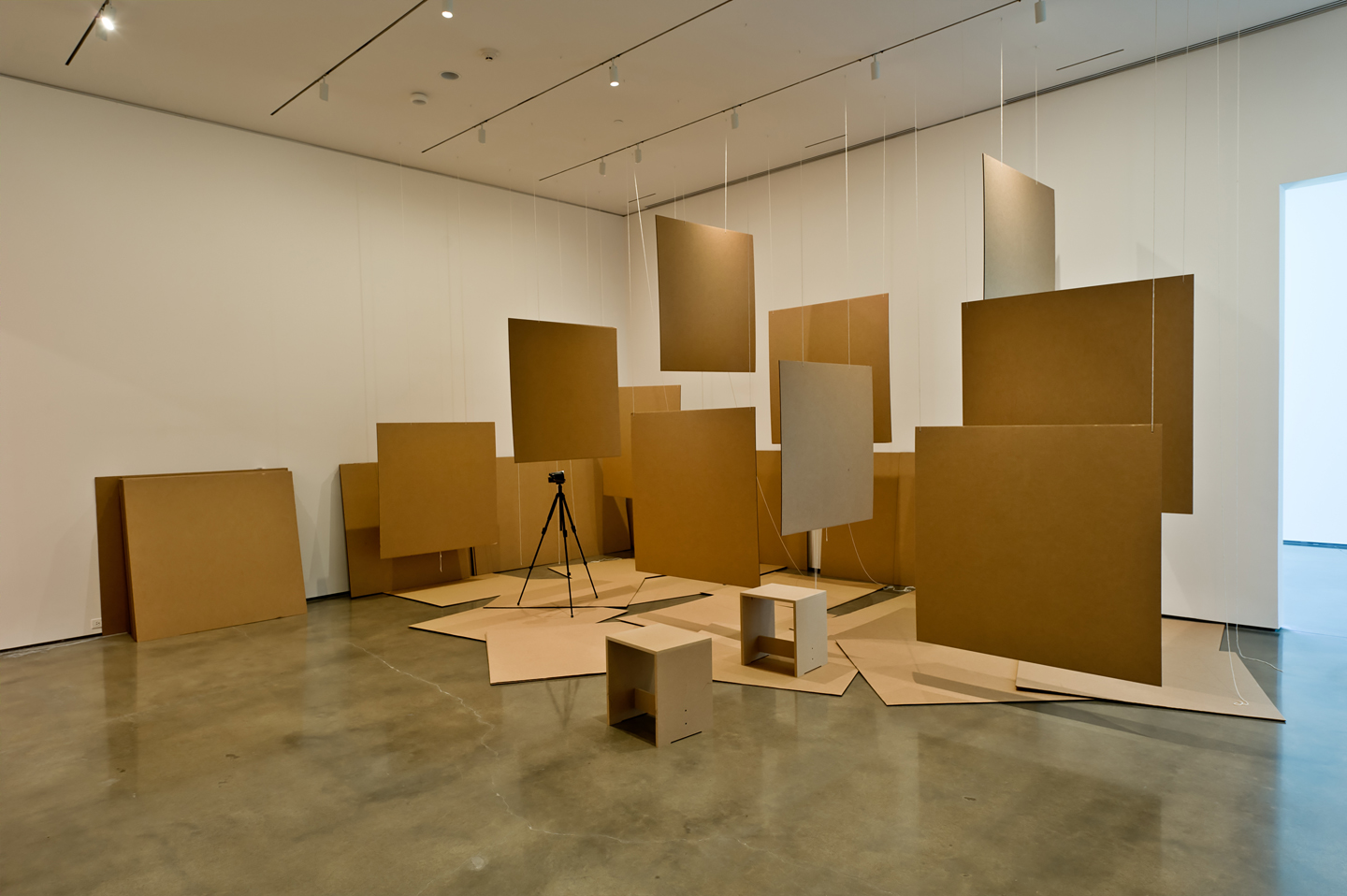 Liam Gillick, McNamara Papers: Towards a Documentary, 1997, installation view at CCS Bard, New York, 2012. Courtesy: the artist