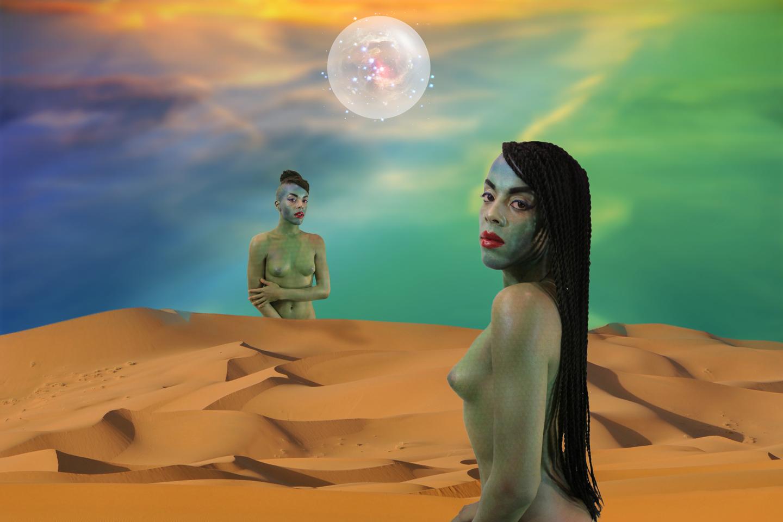 Juliana Huxtable, Nuwaubian Princess, 2012. Courtesy: the artist