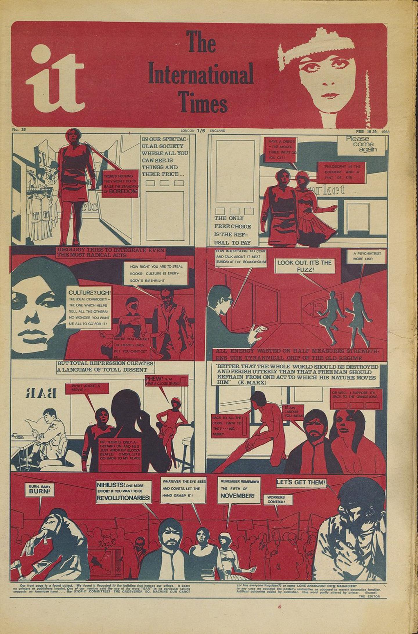 International Times, 1968