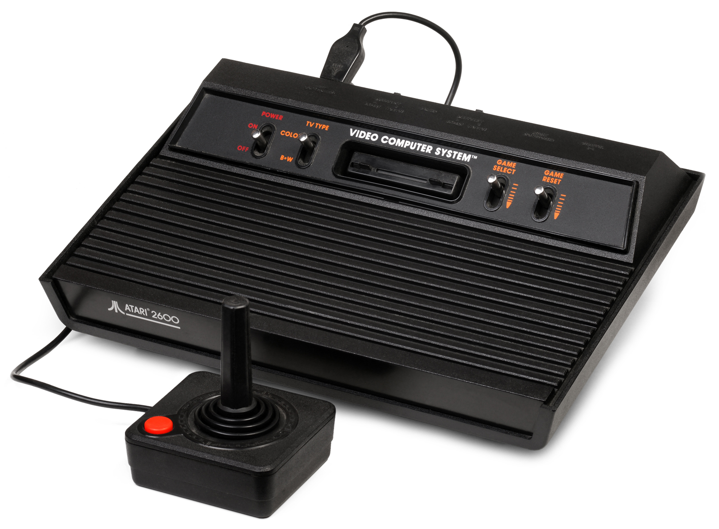 "Atari 2600 video game console ""Darth Vader"". Photo: User: Evan-Amos / Wikimedia Commons / CC-0"