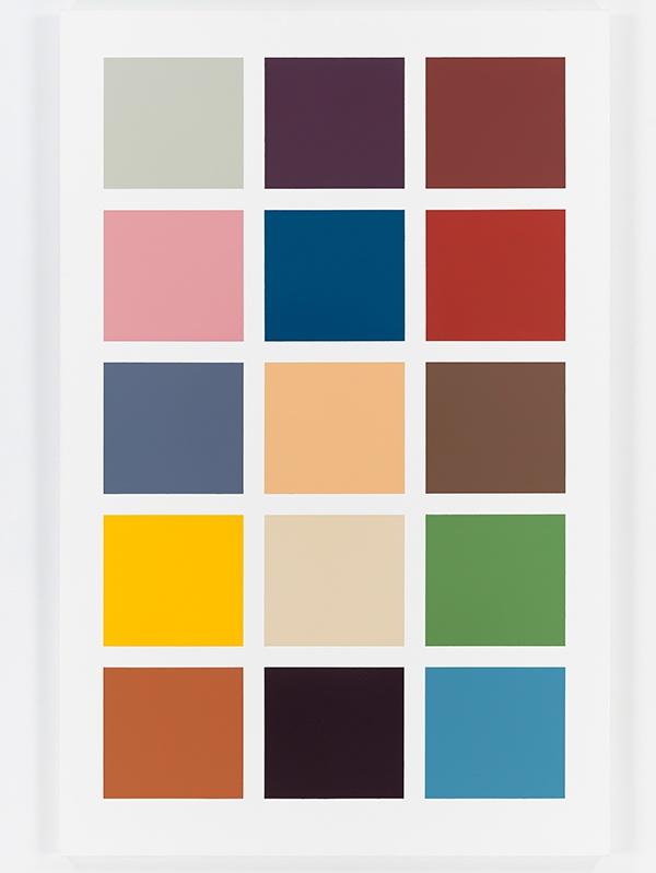 """Gerhard Richter: Colour Charts"""" at Dominique Lévy, London •Mousse"""