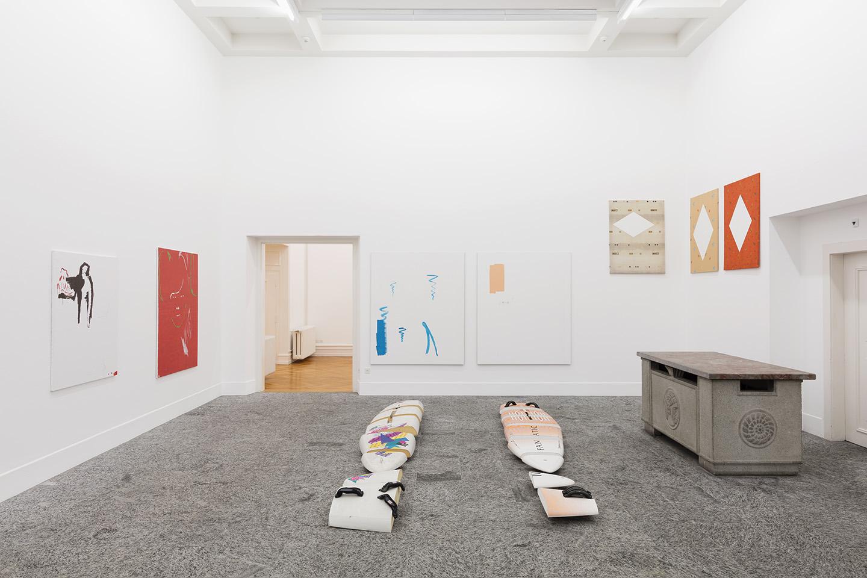 Michael Krebber The Living Wedge At Kunsthalle Bern Mousse Magazine