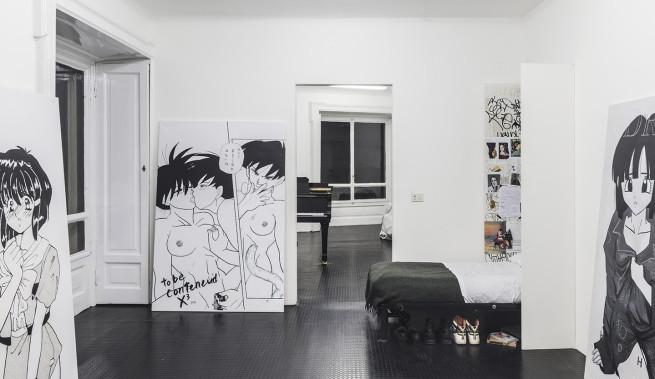 Courtesy: Galeria Federico Vavassori, Milan. Photo: Alessandro Zambianchi