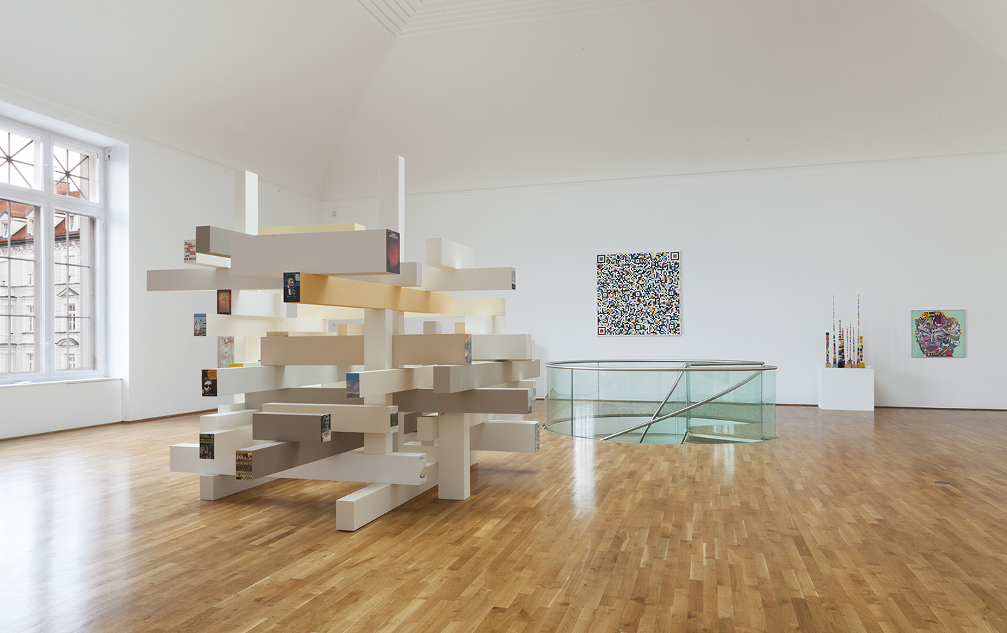 Douglas Coupland Bit Rot At Museum Villa Stuck Munich Mousse  # Muebles Kevin Charles
