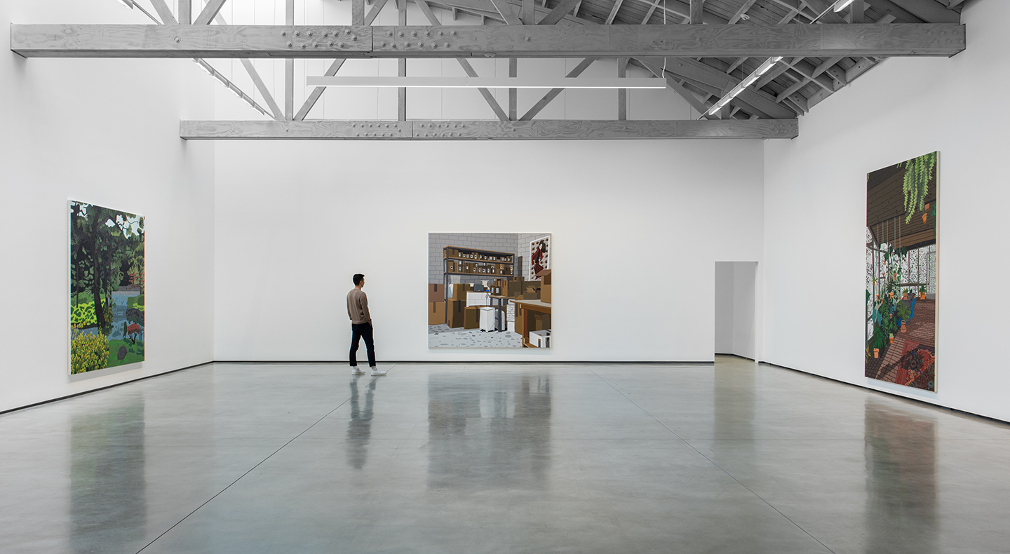Jonas Wood Interiors And Landscapes At David Kordansky Gallery  # Muebles Matisse