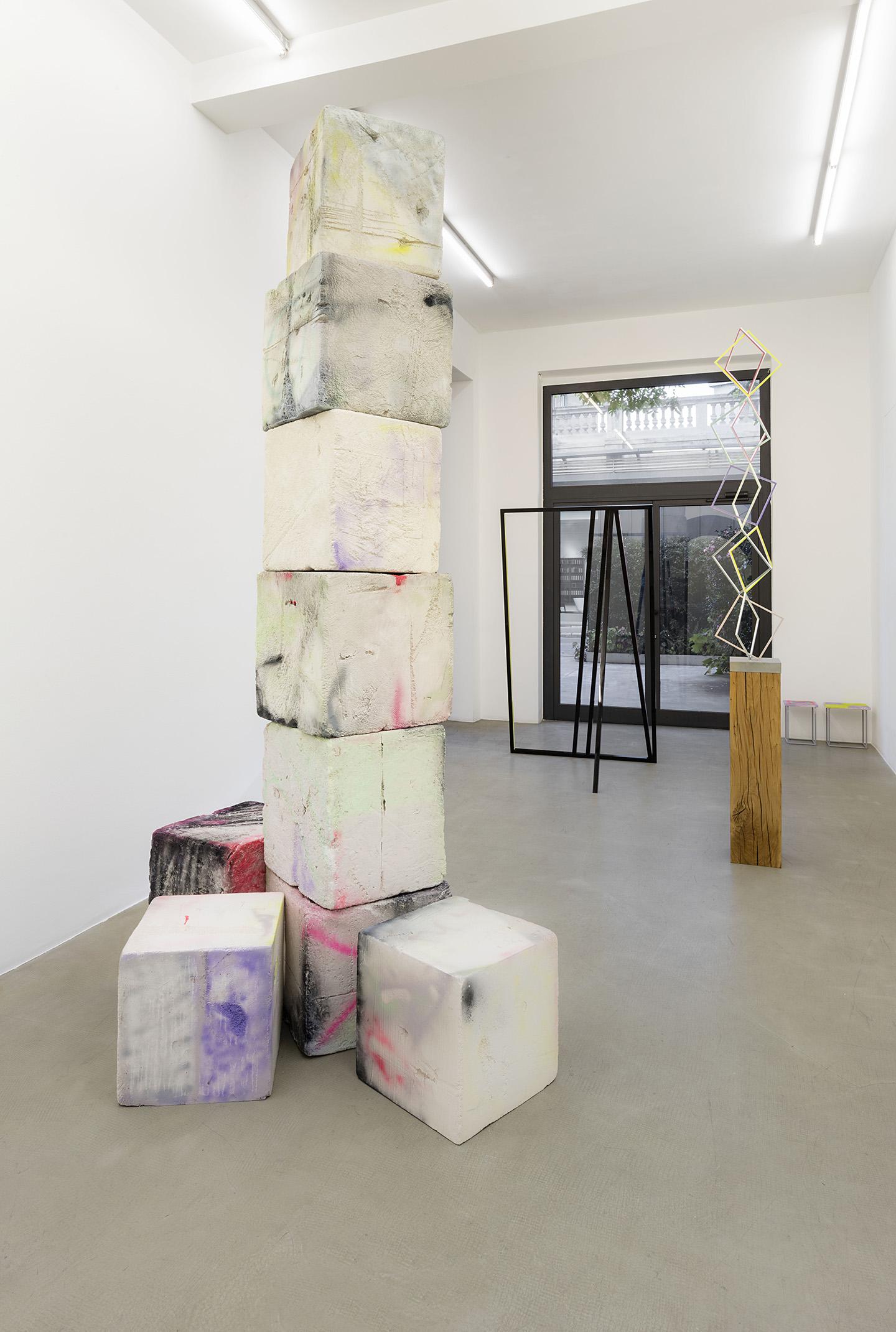 Eva Rothschild At Kaufmann Repetto Milan Mousse Magazine # Muebles Tumbing