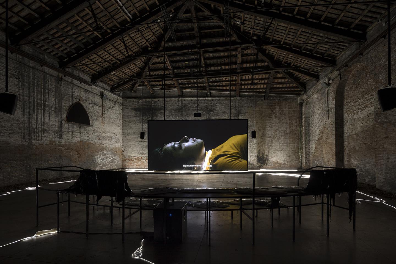 """Spazio Italiano San Francisco il mondo magico"""" at italian pavilion, venice biennale"""