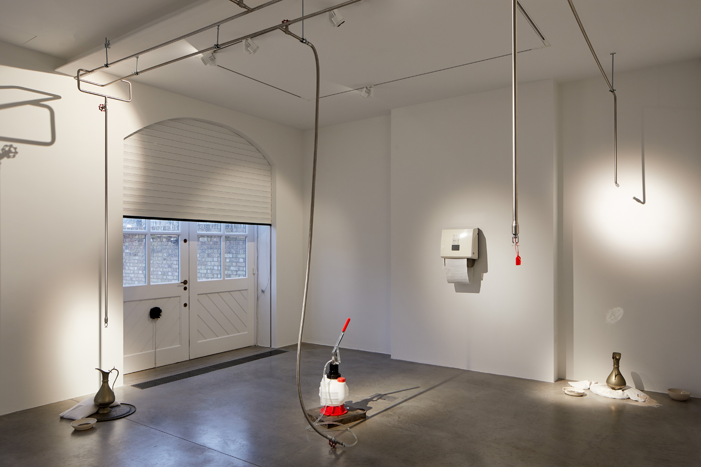 Abbas Zahedi, How To Make A How From A Why, 2020. Installation view at the South London Gallery. Photo Andy Stagg (1)