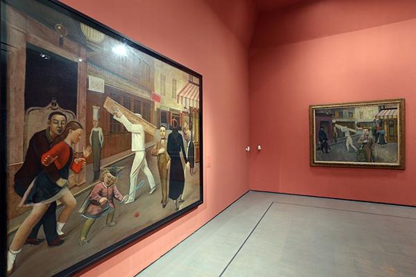 Balthus the retrospective and l atelier at scuderie for Balthus la chambre