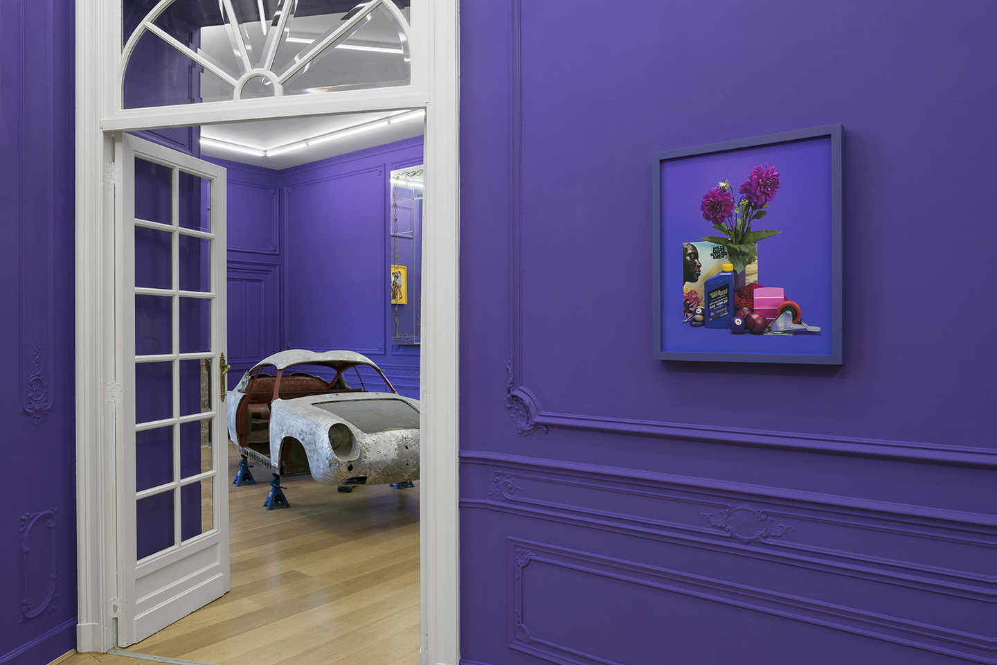 """Awol Erizku """"Purple Reign"""" at Stems Gallery, Brussels"""