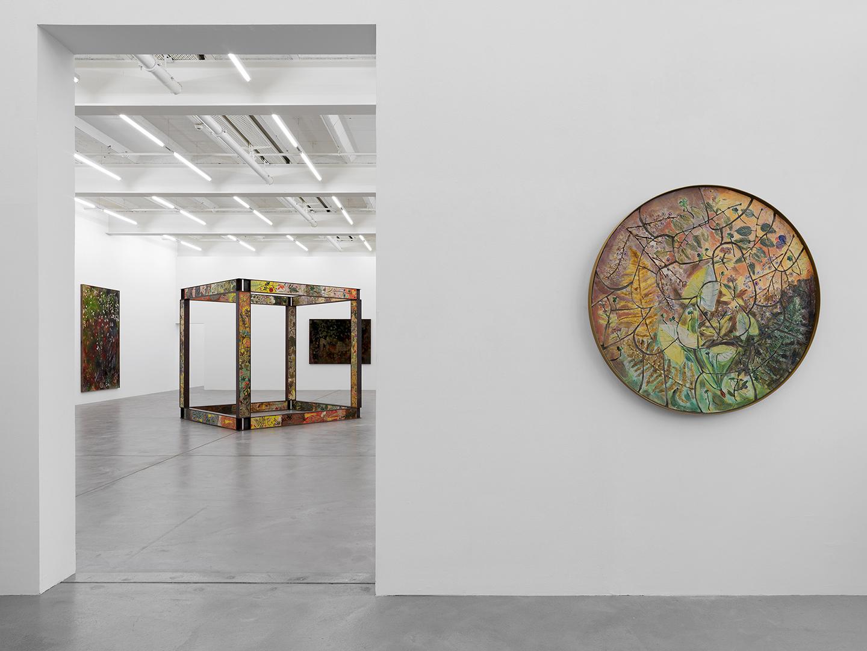 Il Portico Di Sam sam falls at galerie eva presenhuber, zurich •mousse magazine