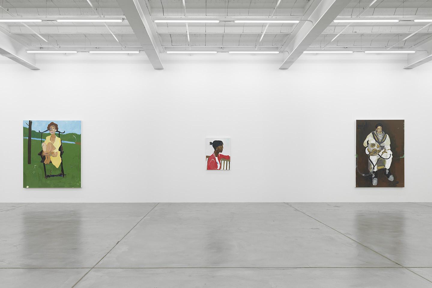 Henry Taylor A Portrait Show At Galerie Eva Presenhuber Zurich  # Taylor Muebles Guadalajara