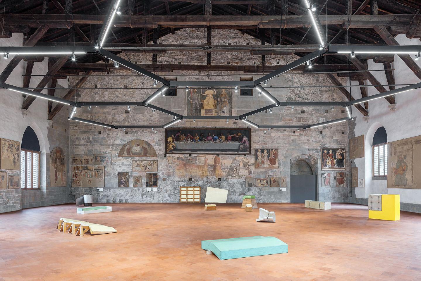 Affordable courtesy gamec galleria darte moderna e di bergamo photo giulio boem with interior - Interior design bergamo ...