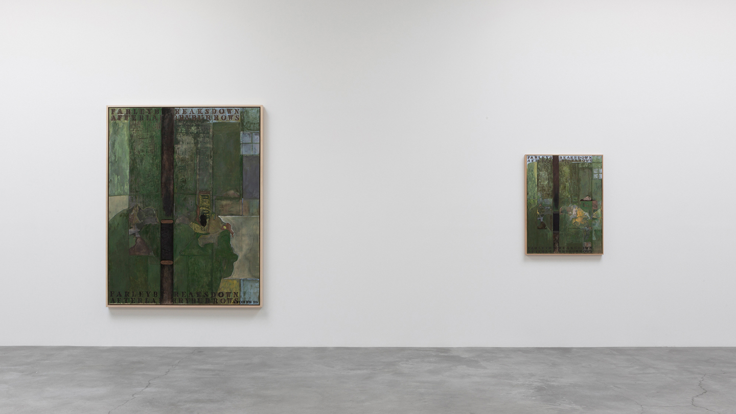 jasper johns recent paintings works on paper installation view at matthew marks gallery new york 2019 courtesy matthew marks gallery new york