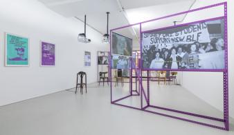 Exhibition design in collaboration with Fotini Lazaridou-Hatzigoga.  Photo: Tiberio Sorvillo