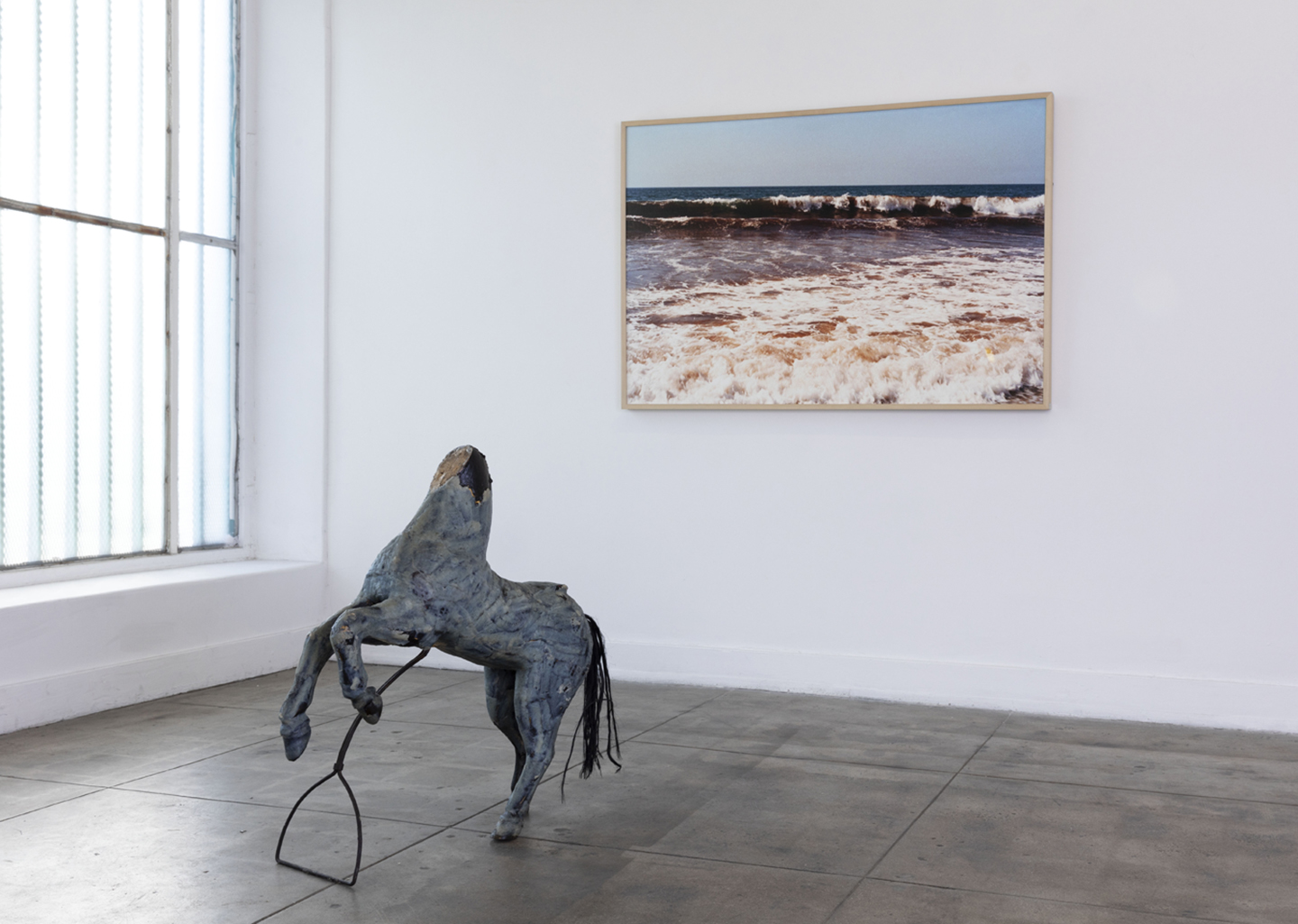 """Doesn't whine by blue moon"""" at Ochi Projects, Los Angeles"""