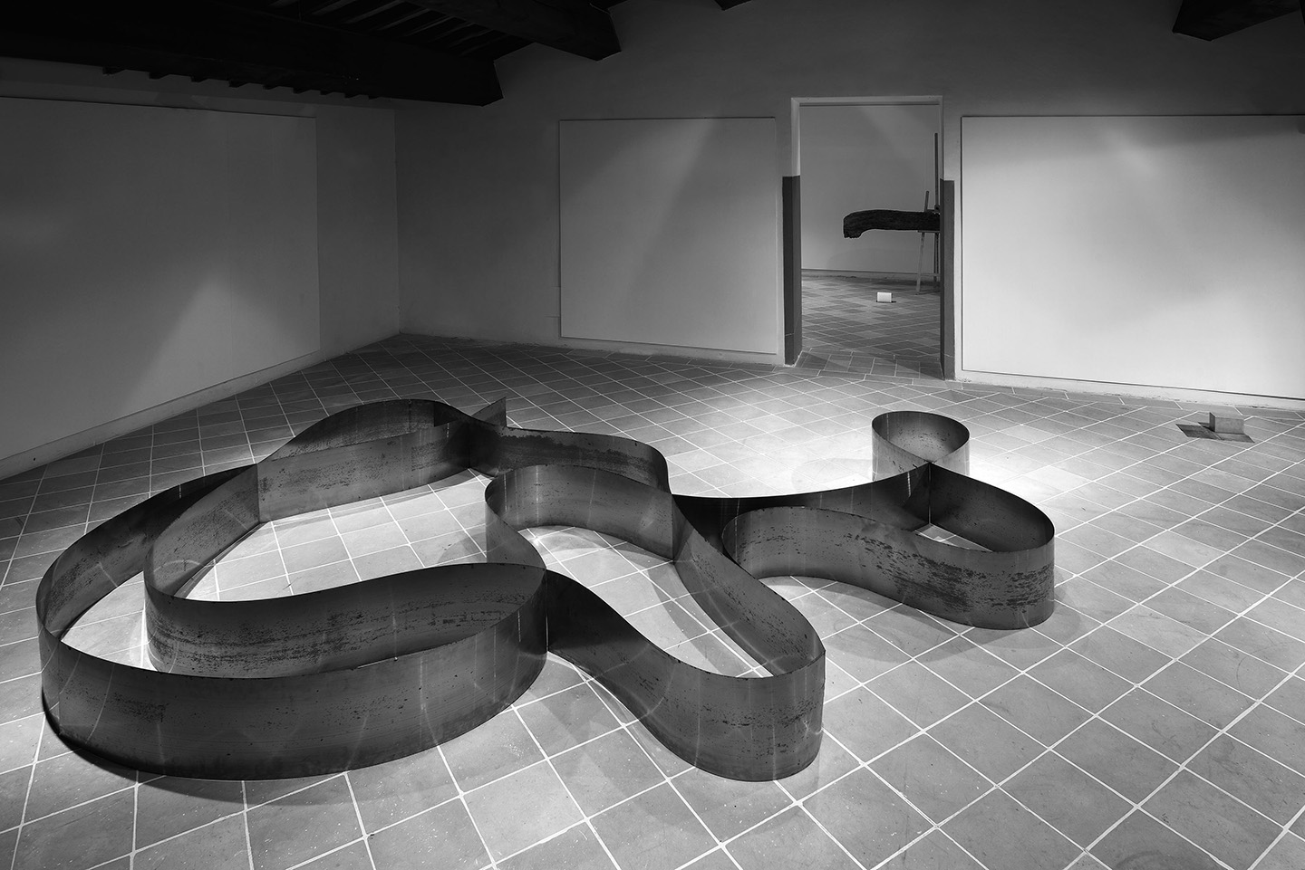 Paolo Icaro Unending Incipit At Pinacoteca Comunale Of Citt Di  # Saverio Muebles