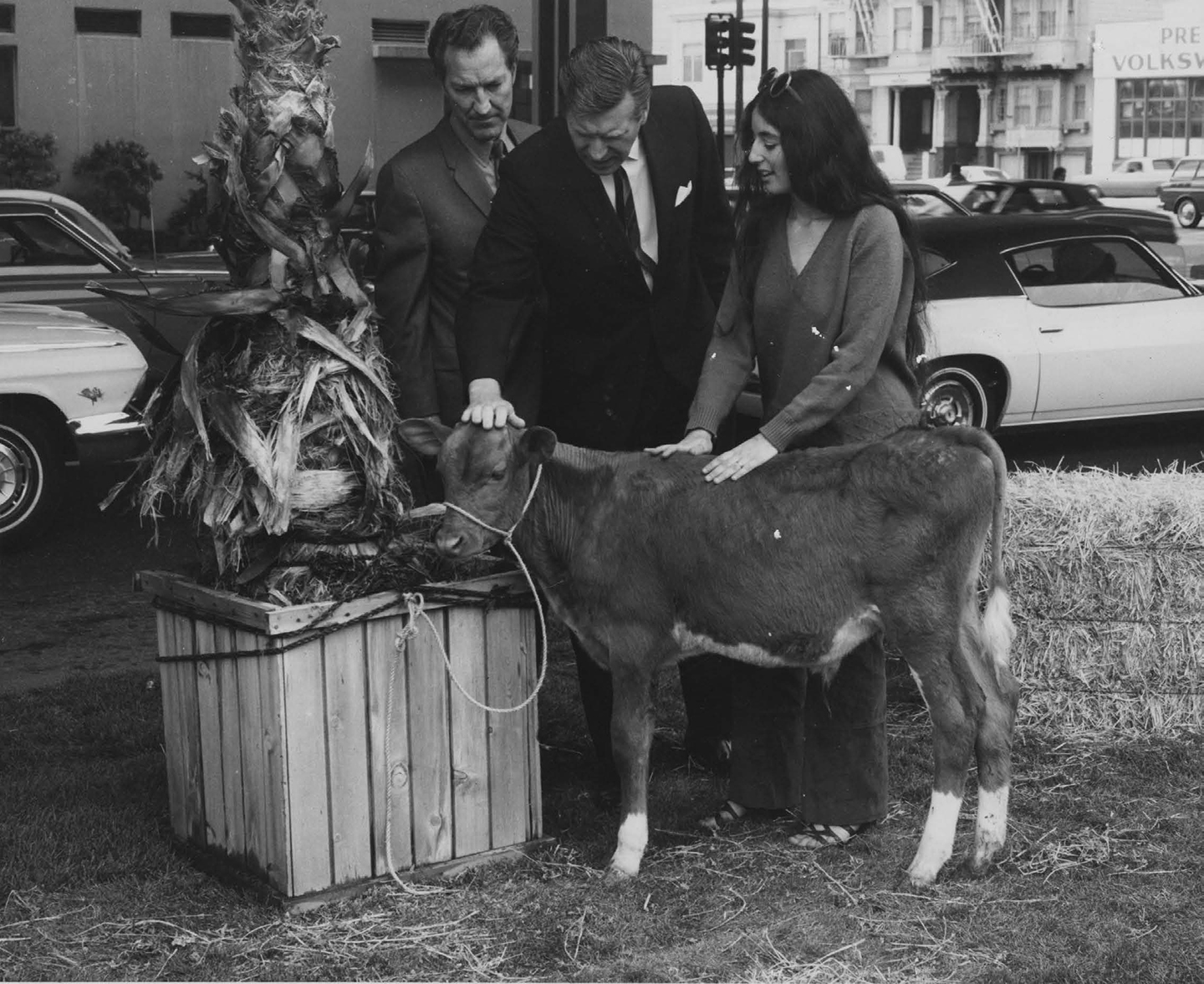 Bonnie Sherk, Portable Park II, 1970. Courtesy: the artist