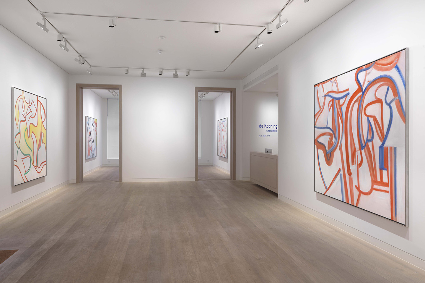 Willem De Kooning Late Paintings At Skarstedt London Mousse  # Muebles Matisse