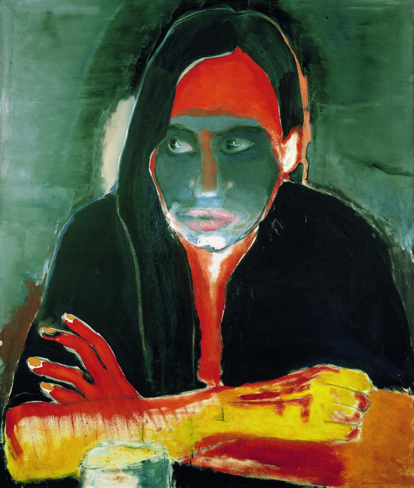 Marlene Dumas, Genetiese Heimwee, 1984. Courtesy: Galerie Paul Andriesse, Amsterdam