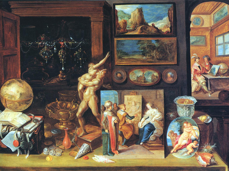 Frans Francken, A Collector's Cabinet, 1625
